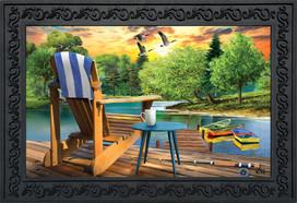 Lakeside Escape Summer Doormat