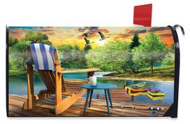 Lakeside Escape Summer Mailbox Cover