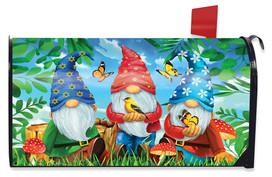 Gnome Sweet Gnome Spring Mailbox Cover