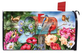 Birds and Mailbox Spring Mailbox Cover