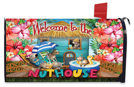 Summer Nuthouse Humor Mailbox Cover
