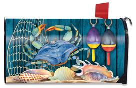 Crab Walk Summer Mailbox Cover