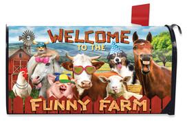 Funny Farm Summer Mailbox Cover