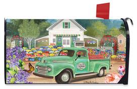 Flower Farm Spring Mailbox Cover