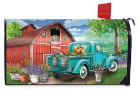 Farm In Spring Mailbox Cover