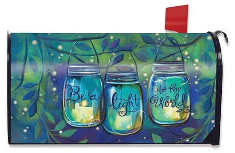 Be A Light Spring Large / Oversized Mailbox Cover