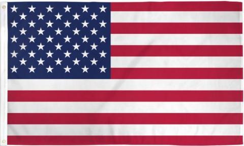 USA 3' x 5' Grommet Flag