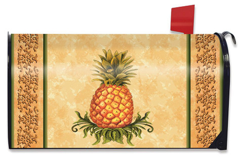 Pineapple Fruit Everday Large / Oversized Magnetic Mailbox Cover