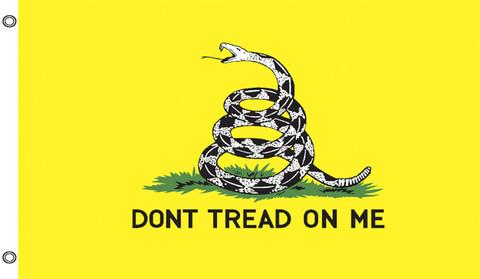 Don't Tread on Me Grommet Flag