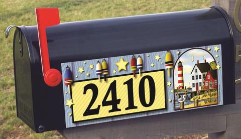 Bayside Lighthouse Summer Mailbox / Door Magnet