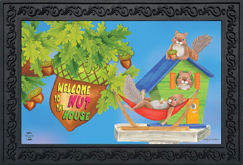 The Nuthouse Summer Doormat