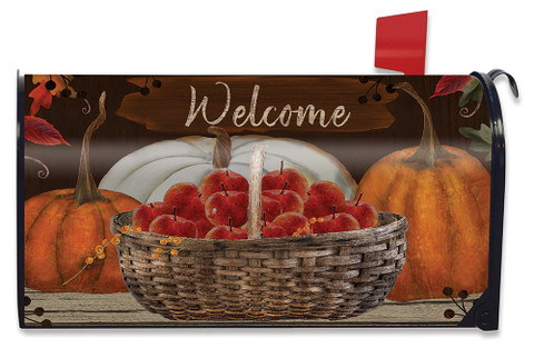 A Time To Gather Autumn Mailbox Cover