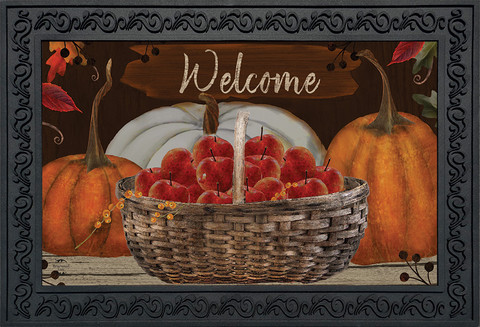 A Time To Gather Autumn Doormat