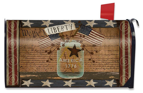 Liberty Primitive Large / Oversized Mailbox Cover