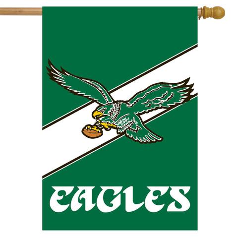 Philadelphia Eagles Retro NFL House Flag