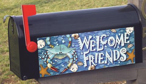 Crab Splash! Welcome Summer Mailbox / Door Magnet