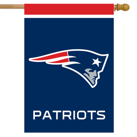New England Patriots NFL House Flag