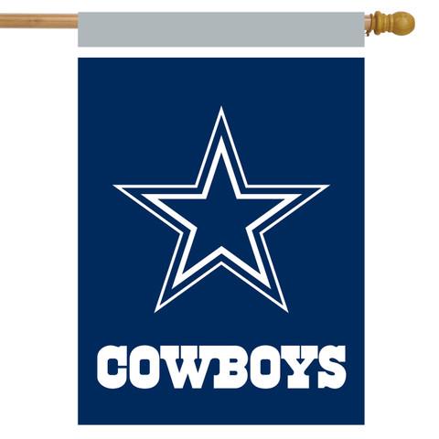 Dallas Cowboys NFL House Flag