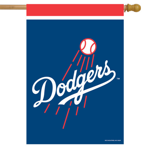 Los Angeles Dodgers MLB House Flag