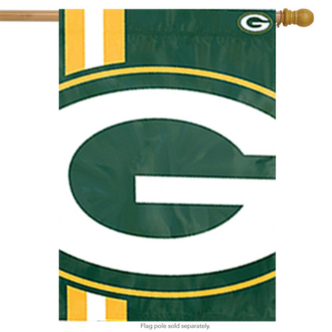 Green Bay Packers Bold Logo House Flag