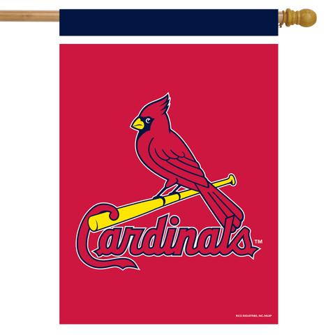 St. Louis Cardinals MLB Licensed House Flag