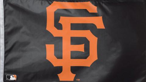 San Francisco Giants MLB Grommet Flag