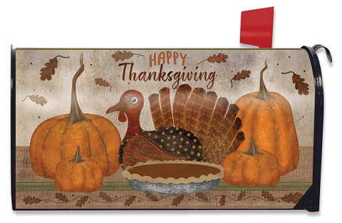 Gather Together Thanksgiving Mailbox Cover