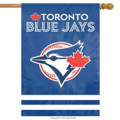 Toronto Blue Jays Applique Embroidered House Flag