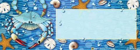 Crab Splash! Summer Mailbox / Door Magnet