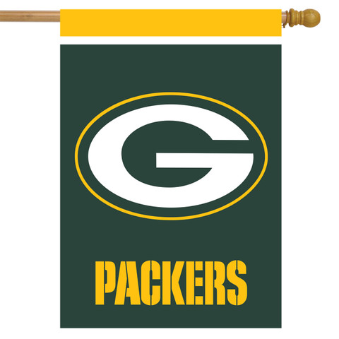 Green Bay Packers NFL House Flag