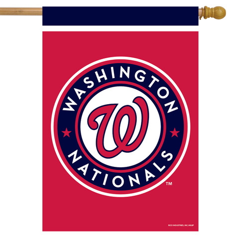 Washington Nationals MLB House Flag