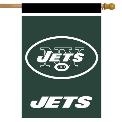 New York Jets NFL House Flag
