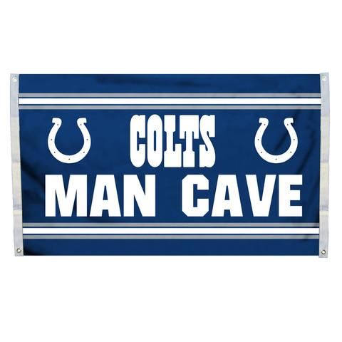 Indianapolis Colts Man Cave Grommet Flag