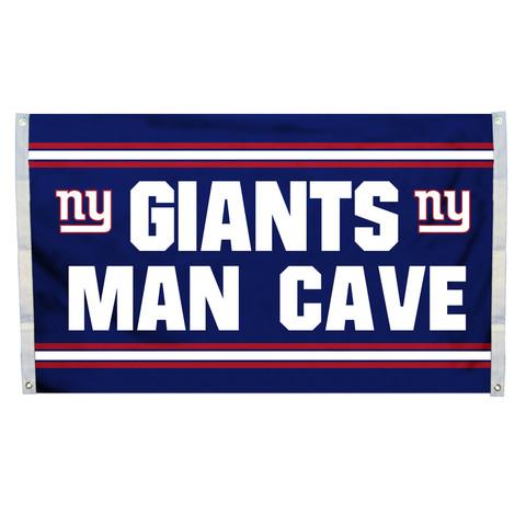 New York Giants Man Cave Grommet Flag