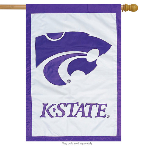 Kansas State Wildcats NCAA Licensed House Flag