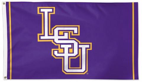 Lousiania State University Deluxe Grommet Flag