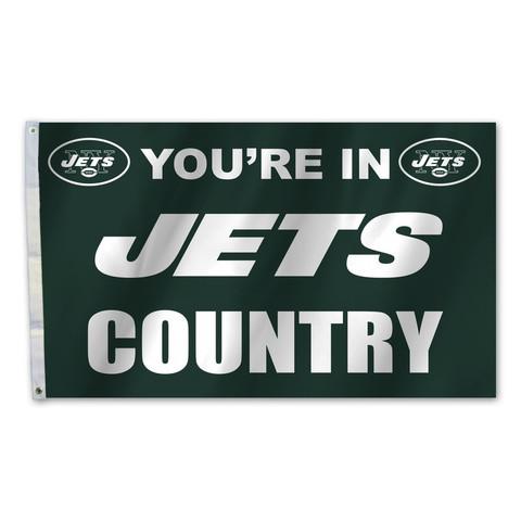 New York Jets Country Grommet Flag