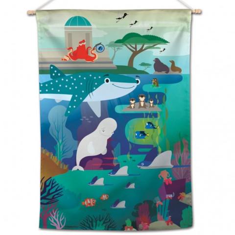 Finding Nemo Scene House Flag