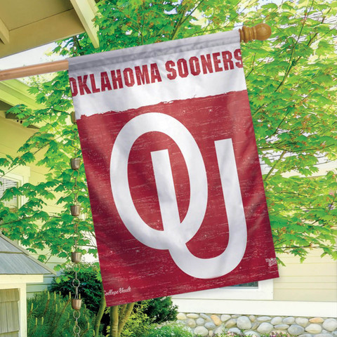 Oklahoma Sooners NCAA Vertical House Flag