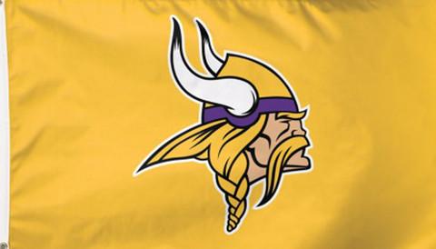 Minnesota Vikings Deluxe NFL Grommet Flag