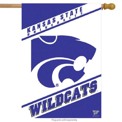 Kansas State Vertical House Flag NCAA