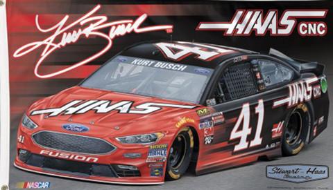 Reed Sorenson # 41 NASCAR Deluxe Grommet Flag