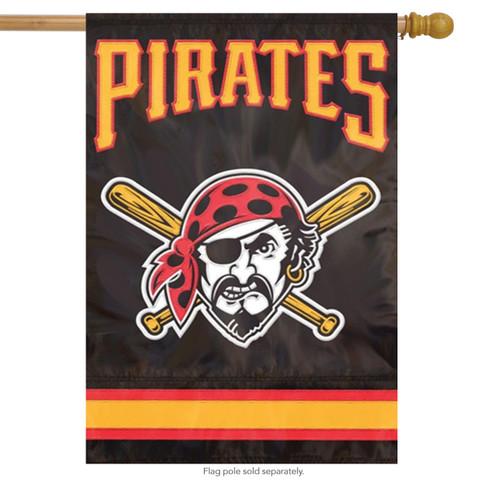 Pittsburgh Pirates Applique Banner Flag