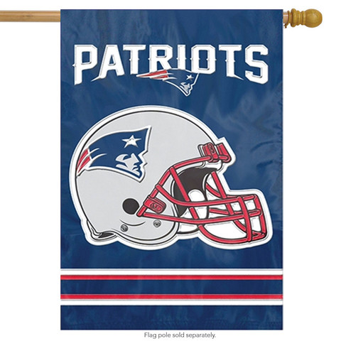 New England Patriots Applique Banner
