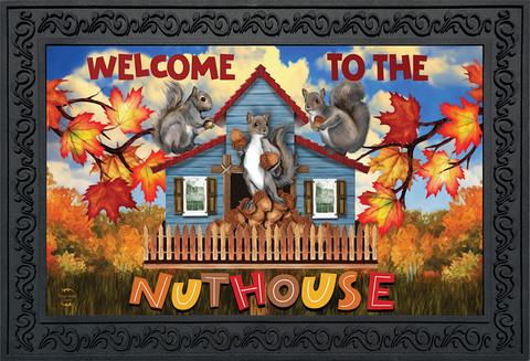 Nut House Fall Doormat