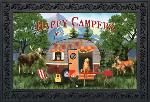 Great Outdoors Camper Fall Doormat