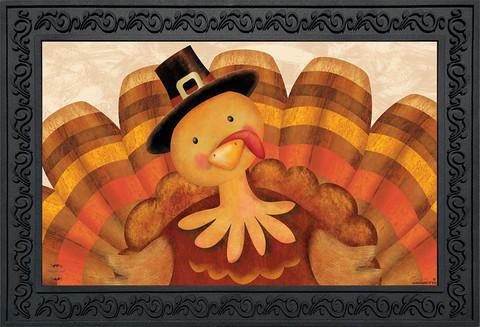 Thanksgiving Turkey Doormat