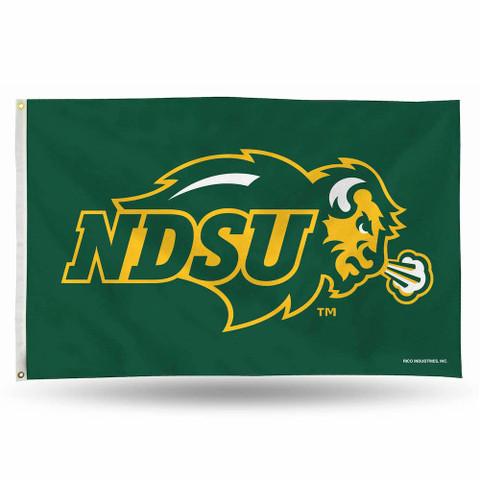 North Dakota State University Bison NCAA Grommet Flag
