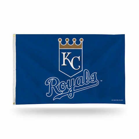 Kansas City Royals Shield Logo MLB Grommet Flag