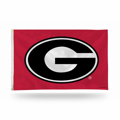 University of Georgia Bulldogs NCAA Grommet Flag